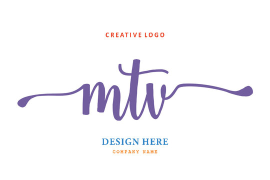 MTV lettering logo is simple, easy to understand and authoritative