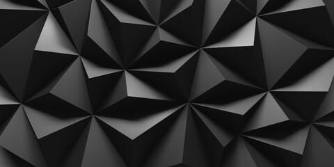 Dark Chaotic Poligon Surface Background