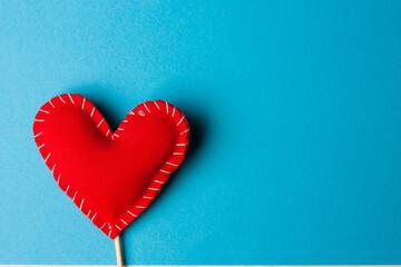 heart on a stick valentine holiday decoration romance fun