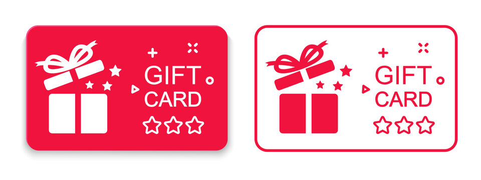 Loyalty card, collect bonus points, redeem gift, discount program symbol, quality business concept, win present, earn reward sign, incentive gift – vector