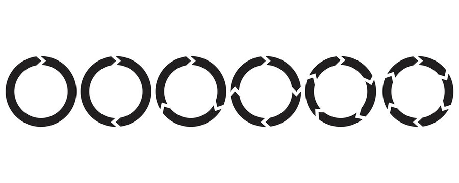 Arrow vector collection. Cursor arrow icon set. Design material. Symbol, logo illustration. Stock image. EPS 10.