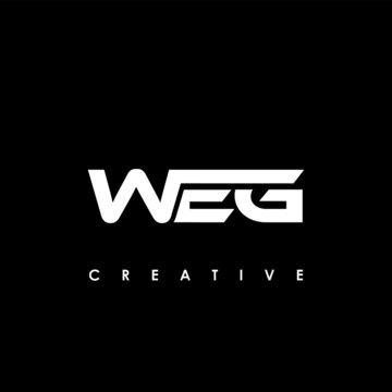WEG Letter Initial Logo Design Template Vector Illustration