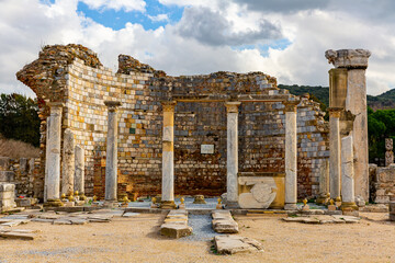Church of the Virgin Mary, also known as the Council Church. Ephes. Turkey