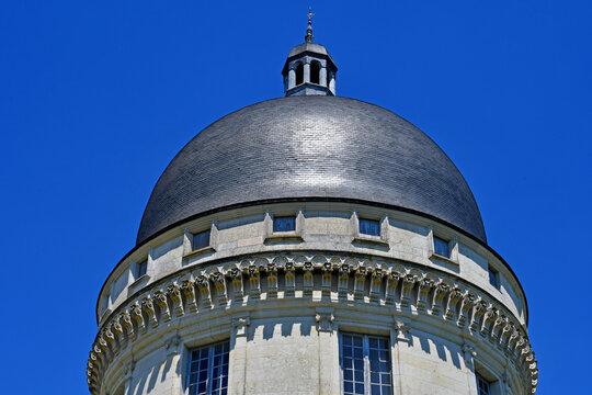 Valencay; France - july 13 2020 : the castle