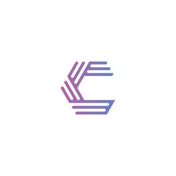 c letter logo core vector icon , EPS 10