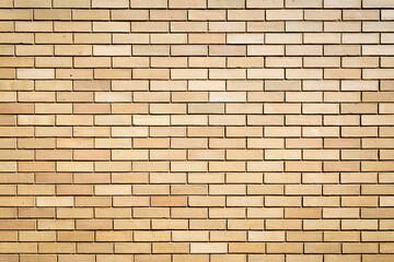 Tan Exterior Brick Wall
