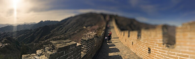 Chinesische Mauer Beijing, China Great Wall of China