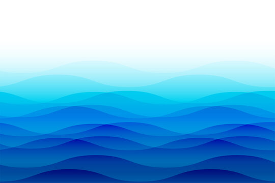 ocean sea waves with ripples background