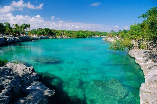 Xel-Ha Lagoon National PArk, Yucatan Coast, Mexico