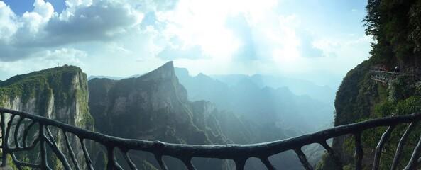 Tianmen Mountain , Zhangjiajie, Hunan China