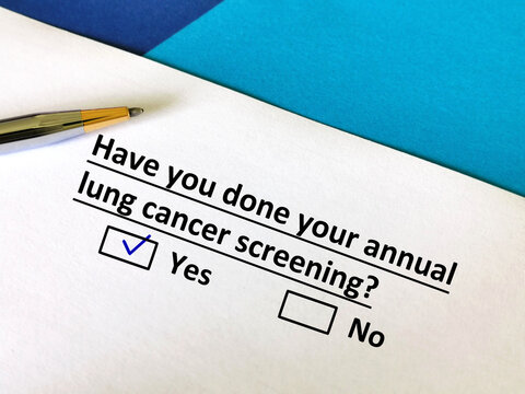 Questionnaire about annual checkup