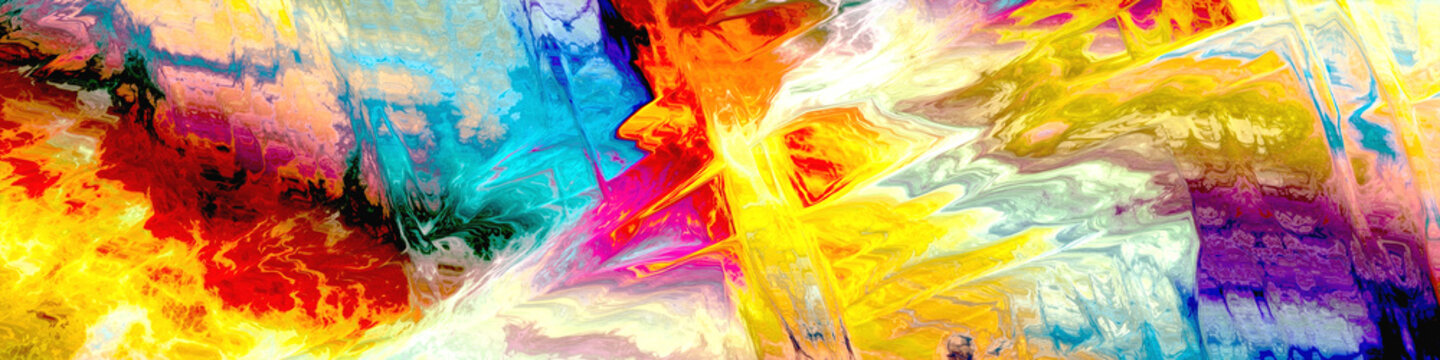 abstract colors painting digital