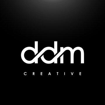 DDM Letter Initial Logo Design Template Vector Illustration