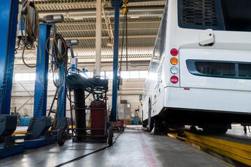 Bus repair service