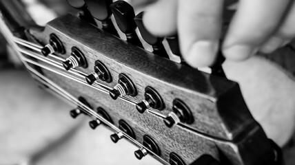Strojenie gitary, 12 strun.