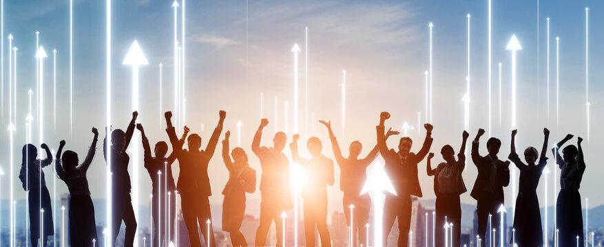 成長する人々 競争 モチベーション サクセス