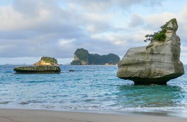 Cathedral Cove in Nieuw-Zeeland