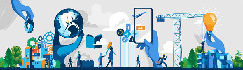 Società contemporanea dell'Innovazione e della comunicazione