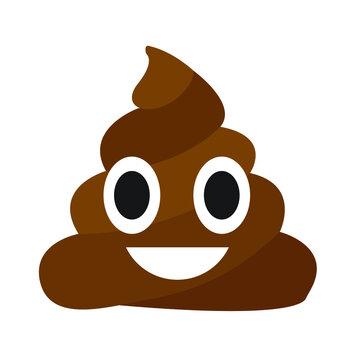 Poop emoji vector
