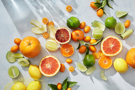 Citrus in Summer with Light.