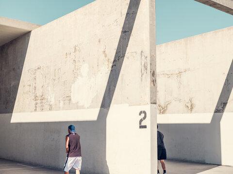 Venice Beach handball courts