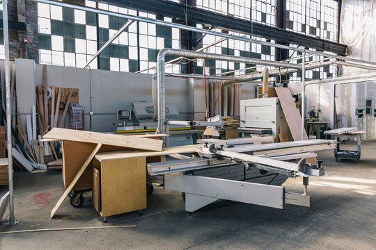 Industrial Workshop Interiors