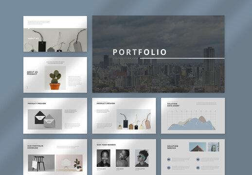 Portfolio Presentation Layout