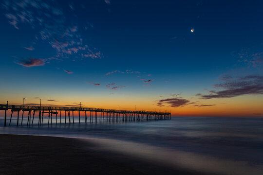 Sunrise Outer Banks Pier