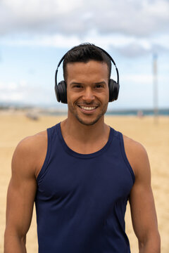 Fitness Personal Trainer Smiling at the Camera
