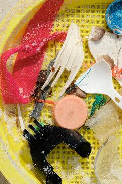Plastic Beach Litter