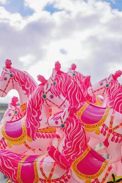 Horse balloons