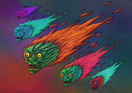 Seeds Of The 2020 Apocalypse Illustration
