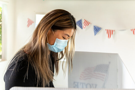 Asian Female, Voting in American Election