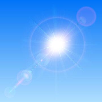 太陽のベクター素材