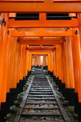 Path with torii gates