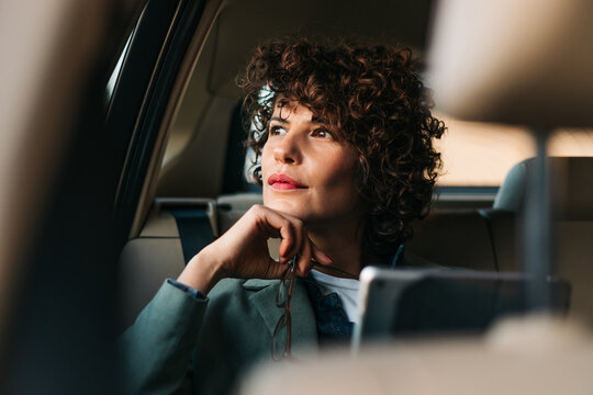 A Woman in the Car