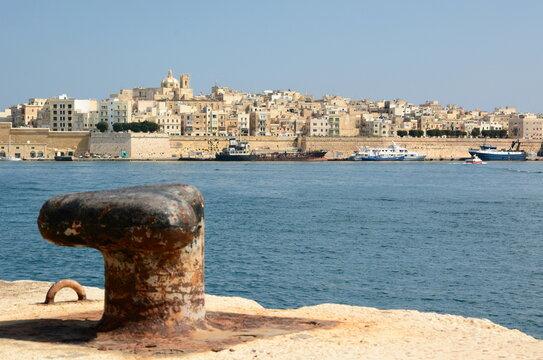 The Grand Harbour. Valletta. Malta