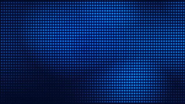 Dot blue pattern screen led light gradient texture background. Abstract  technology big data digital background. 3d rendering.