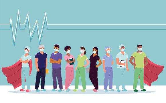 nurses healthcare heroes
