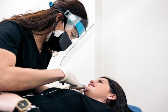 Lips Botox Treatment