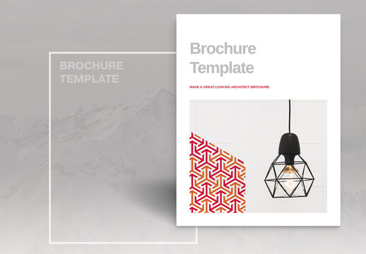 Orange Brochure Layout