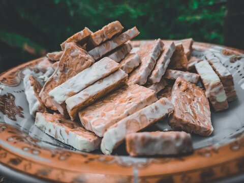 This Is A Typical Food Tempeh From Indonesia And Very Delicious To Enjoy.