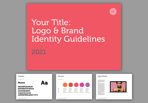 Brand Identity Guidelines Layout