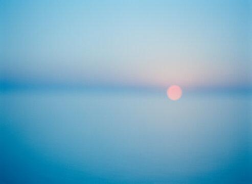 Sunset Over Ajaccio