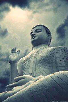 Giant Buddha Srilanka