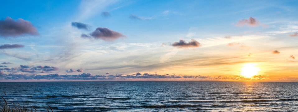 Sunset And The Baltic Sea