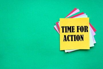 Time For Action, Business Concept