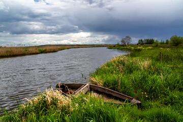 Wiosna w dolinie Narwi, Podlasie, Polska