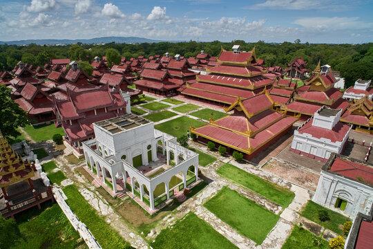 Royal Palace at Mandalay, Myanmar (Burma)