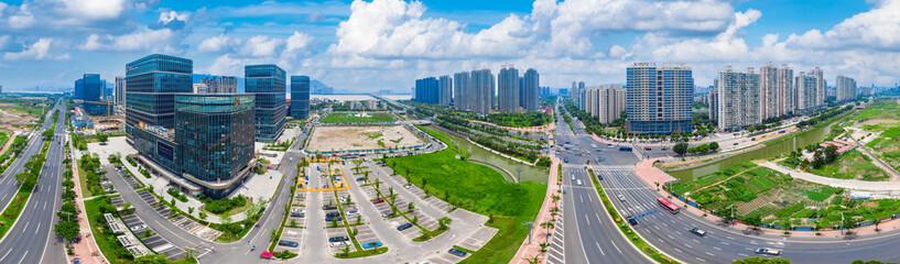 Urban scenery of Wenzhou City, Zhejiang Province, China